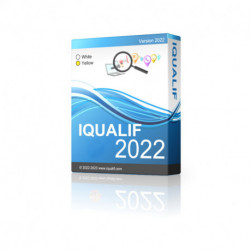 IQUALIF France White and Yellow, Businesses and Individuals